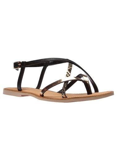 İnci Sandalet Altın